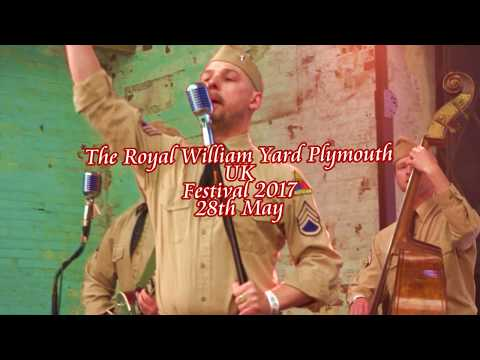 Company B. Band. Live at the Royal William Yard Festival. Plymouth  2017