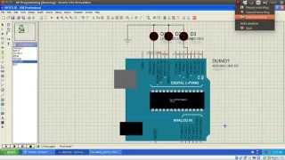 Aplikasi LED dengan Mikrokontroler ATmega8535