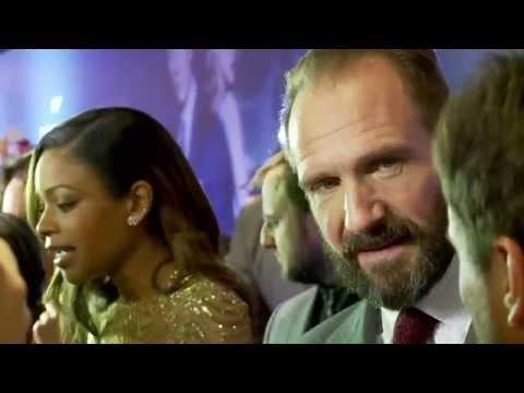 SPECTRE Russia Premiere - Dave Bautista, Naomie Harris, Ralph Fiennes
