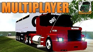 Grand Truck Simulator Multiplayer - SKIN PARA SCANIA 113H