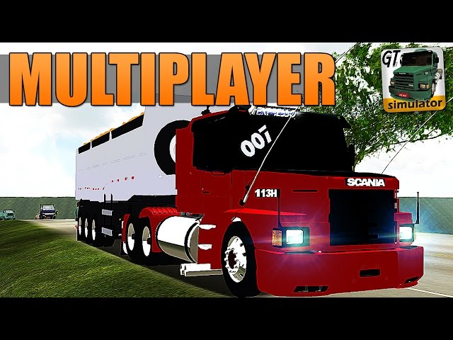 Grand Truck Simulator Multiplayer - SKIN PARA SCANIA 113H