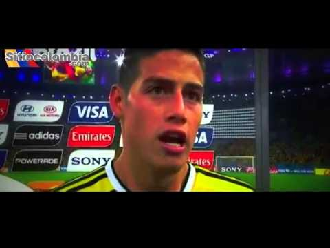 James Rodríguez Colombia vs Uruguay Mundial Brasil 2014