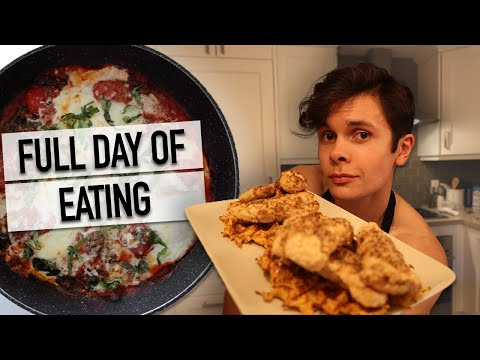 What I Eat In A Day: Realistic Full Day Of Eating + Healthy Simple Recipes// *2,600 CALORIES*
