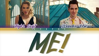 Taylor Swift - ME! (Lyrics) Ft. Brendon Urie | CyKpop Video