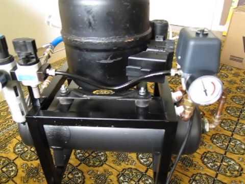 Kühlschrank Verdichter Aufbau : Selbstbau airbrushkompressor homemade airbrush compressor youtube