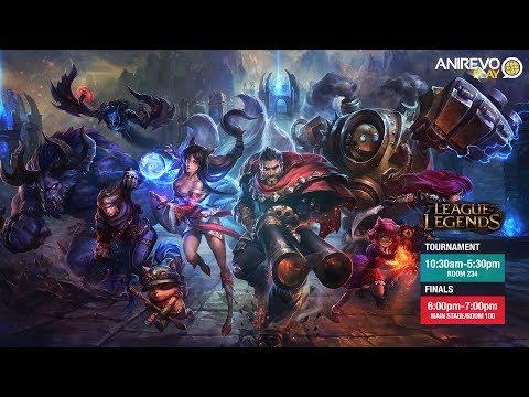 [ANIREVO PLAY 2017] Stream - League of Legends Finals: Dirty Vibe vs Benny & Friends