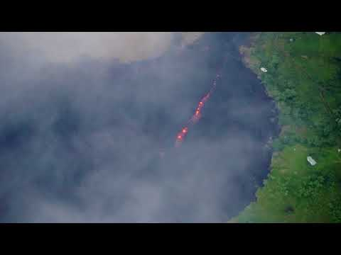 Eruption Activity Aerials