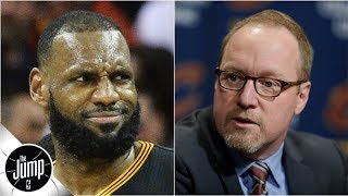 David Griffin says building around LeBron with Cavs was 'miserable' | The Jump