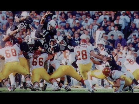 Dan Nystrom, Gophers Upset #2 Penn State 24-23 in '99