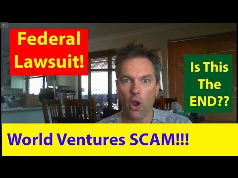 World Ventures Scam - Hit With Federal RICO Lawsuit?