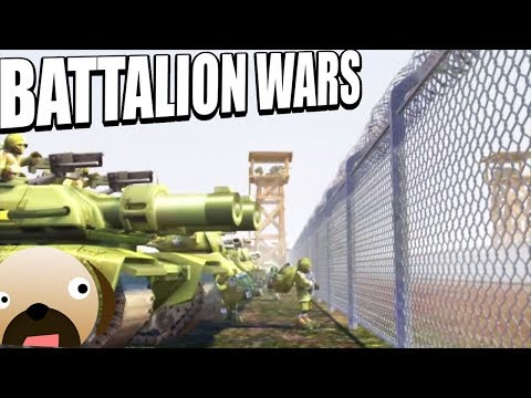 Battalion Wars Begins! Gamecube Real Time Strategy Game - Battalion Wars Gameplay