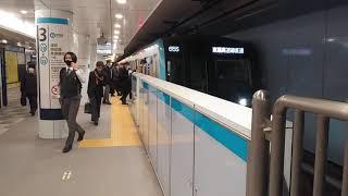 2021年1月20日  東京メトロ15000系  日本橋発車