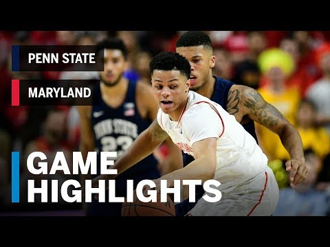 Highlights: Maryland Terrapins vs. Penn State Nittany Lions | Big Ten Basketball