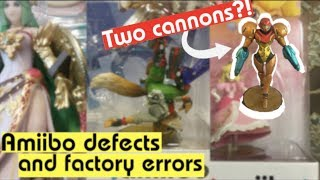 Defect amiibo & factory errors, and what happens…