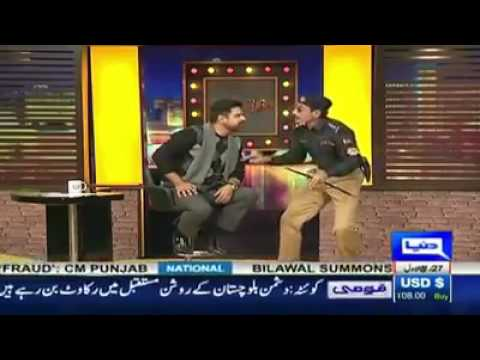 Iftakhar thakar best comedy on asif zardari
