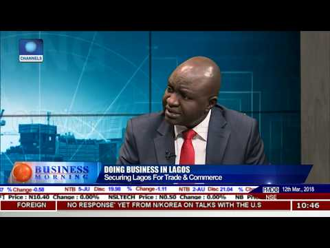 How To Secure Lagos For Improved Trade & Commerce  LCCI Pt.2