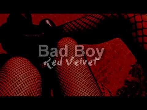 Red Velvet - Bad Boy (INSTRUMENTAL W/BACKING VOCALS)