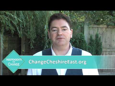 Independent Councillor Craig Browne, Alderley Edge, Cheshire East Council