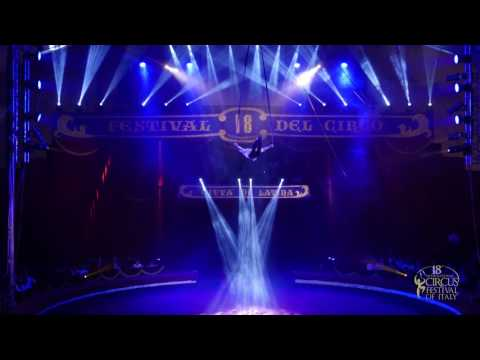 ÁKOS BIRITZ (Hungary, Aerial Silks) - 18th International Circus Festival of Italy (2016)