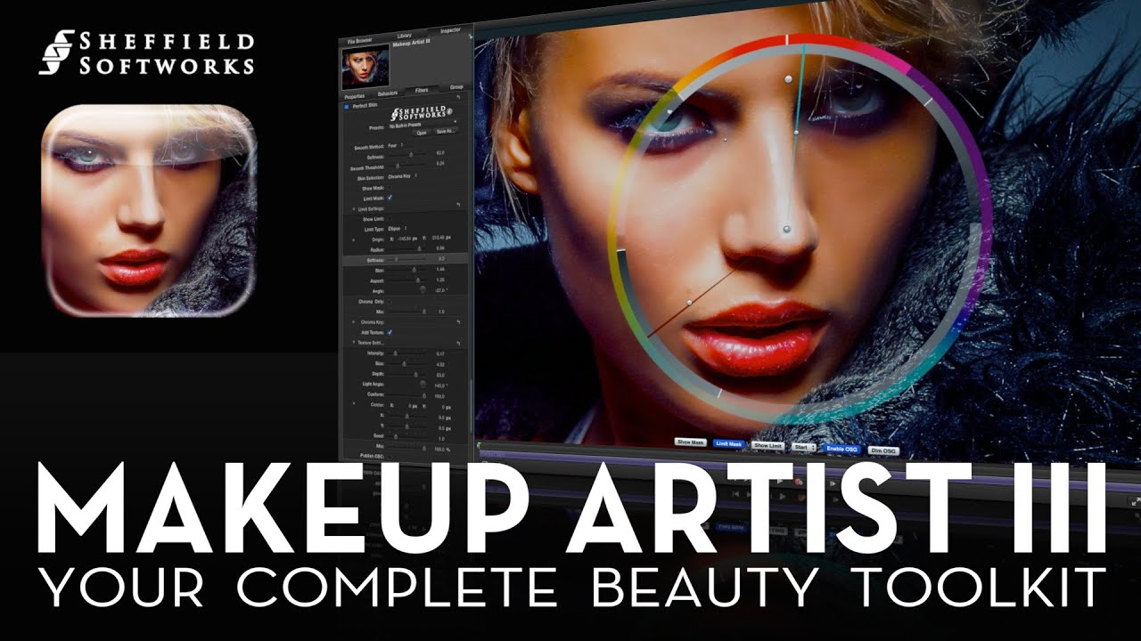 Makeup Artist 3 for FCP X, Premiere Pro, AE and Motion