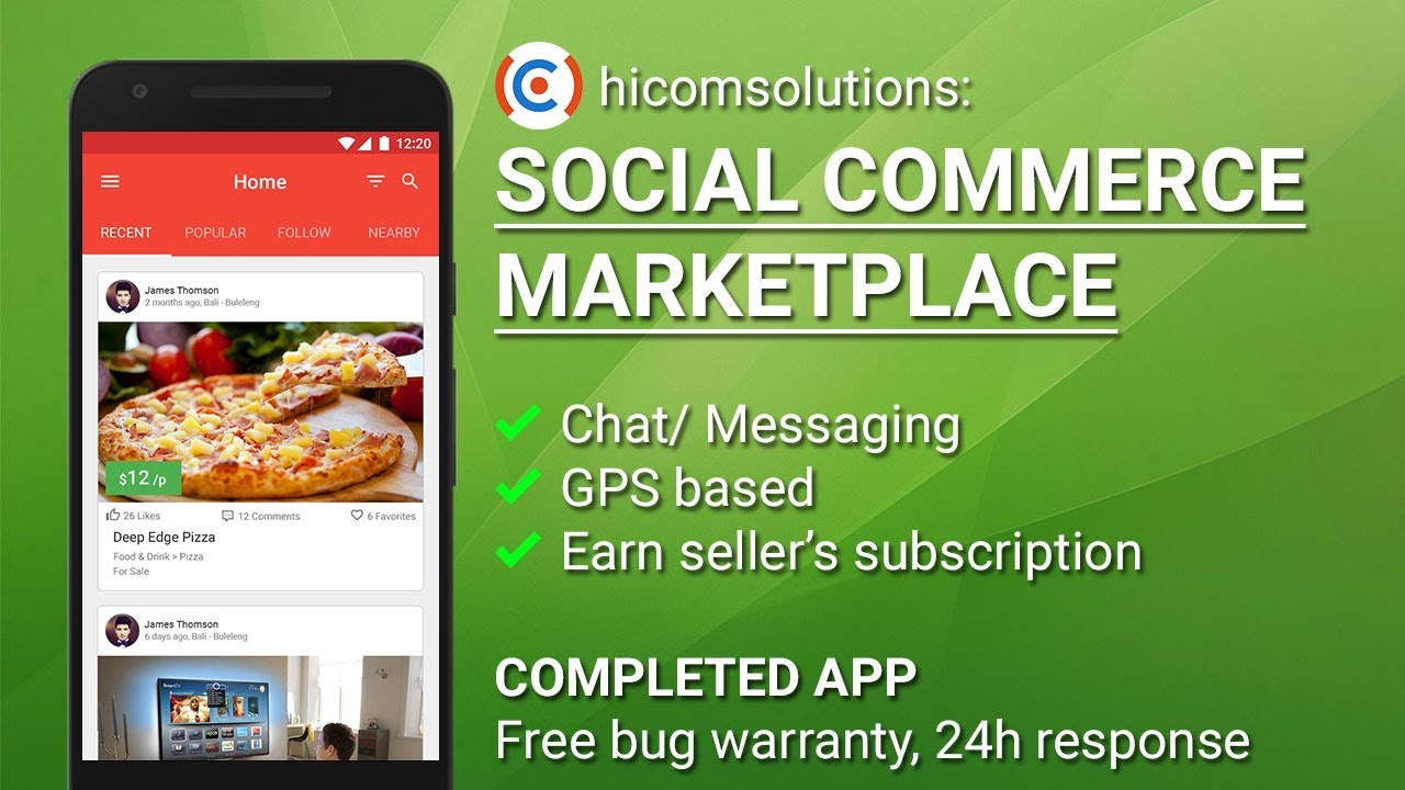 Social commerce marketplace android app template script source social commerce marketplace android app template script source code for sale forumfinder Choice Image