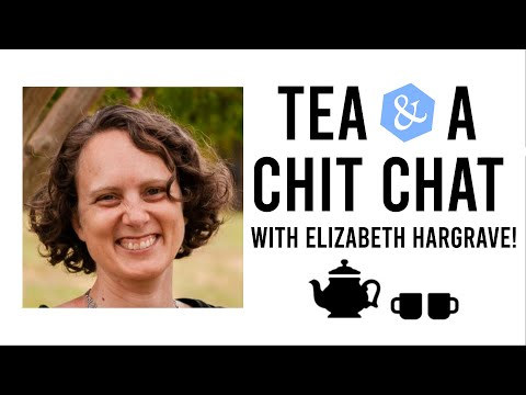 Tea & A Chit Chat Live with Elizabeth Hargrave (Wingspan)