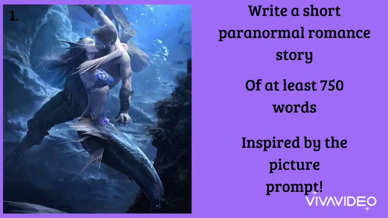 Writing prompts for paranormal romance - YouTube
