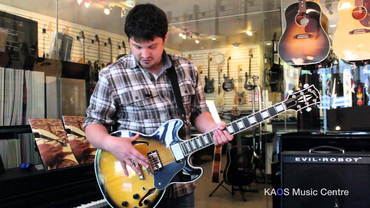 gear review gibson midtown custom youtube. Black Bedroom Furniture Sets. Home Design Ideas