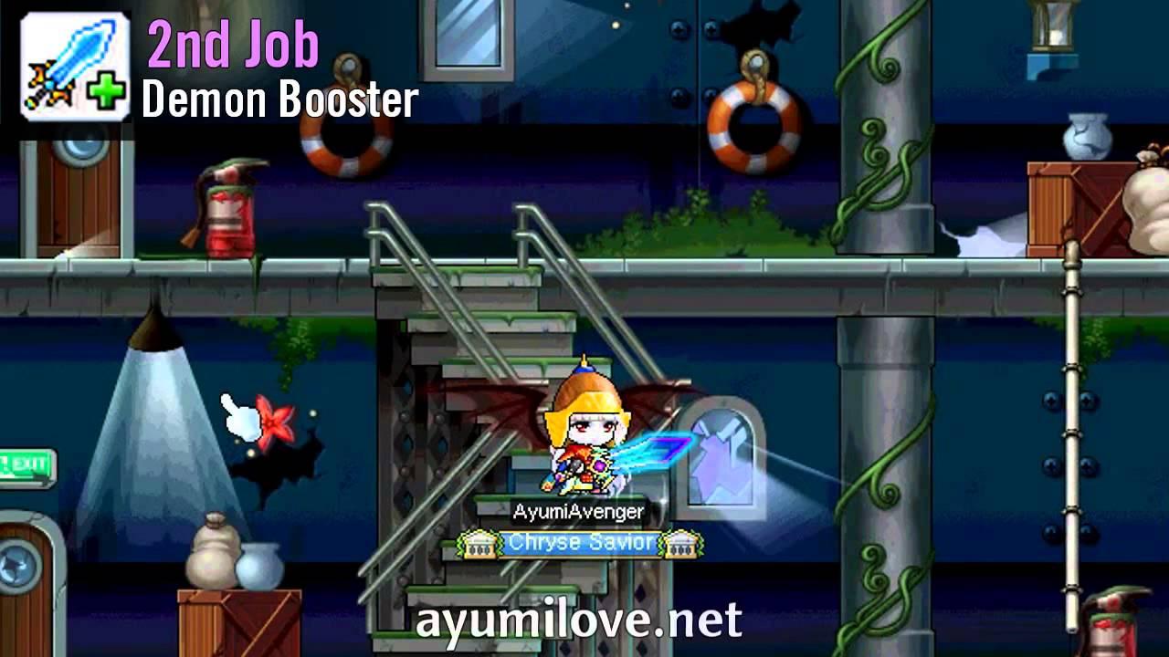 MapleStory Demon Avenger Skill Build Guide | AyumiLove