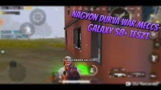 PUBG Mobile | WAR Mode | Galaxy S8+ | Pro player
