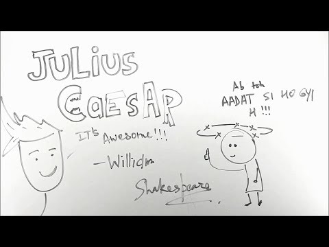 Julius Caesar - ep01 - BKP  Class 10 English Drama  William Shakespeare  Boards explanation