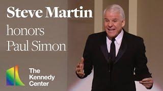 Steve Martin (Paul Simon Tribute) - 2002 Kennedy Center Honors