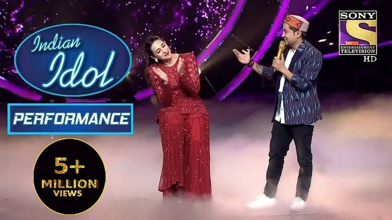 "Download Pawandeep ने Dedicate किया ""Dil Jaane Jigar"" Karisma जी को Special Way में   Indian Idol Season 12"