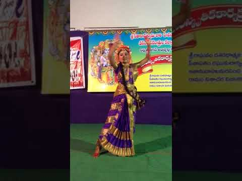 Classical dance performance by our 7th standard student Myla Bhavani