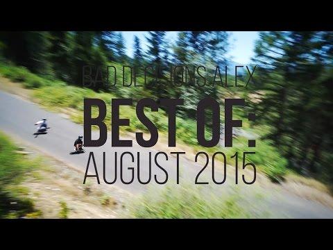 Best of Longboarding: August 2015 - Alex Bad Decisions Ameen - Skate[Slate].TV