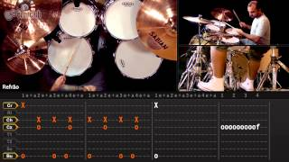 Black Night - Deep Purple (aula de bateria)