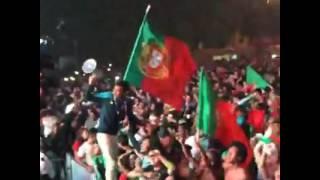 فيديو.. احتفالات البرتغال بأول لقب في تاريخها