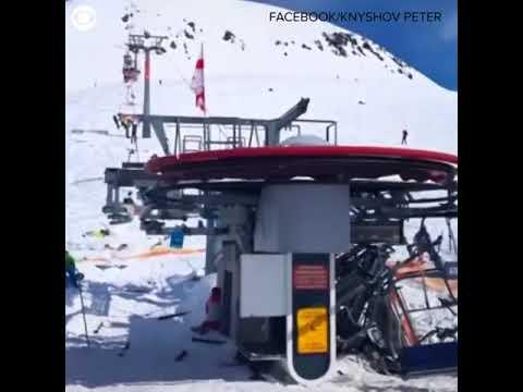 """CBS Newspath DRAMATIC VIDEO """"Jump, jump"""" that's what"""