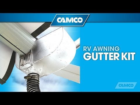 RV Awning Gutter Kit from Camco