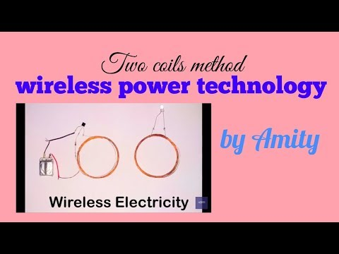 Copy of simple wireless  ELECTRICITY transmission