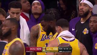 Houston Rockets vs Los Angeles Lakers Brawl | Oct.20.2018 | NBA 2018.2019