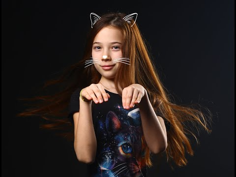 Любовь Саруханова - Белая кошка (Lyric Video)