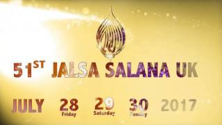 Jalsa Salana Uk 28-30 July 2017