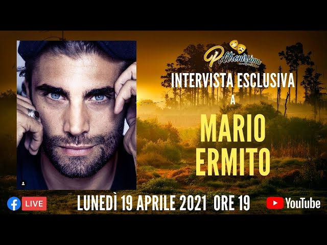 19.04.2021 - Video intervista esclusiva a Mario Ermito