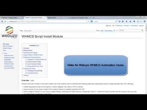 WHMCS Script Install Module