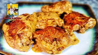 Creamy Garlic Alfredo Chicken | Keto Recipes