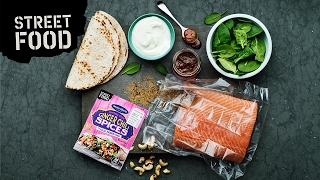 Video Pulled Salmon Wraps - Så lagar du Street Food hemma download MP3, 3GP, MP4, WEBM, AVI, FLV November 2018