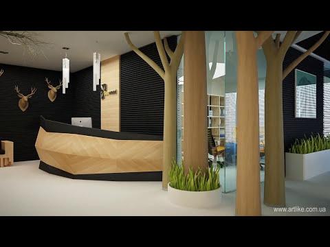 Дизайн офиса. Современный и креативный интерьер!