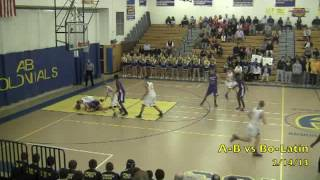 Acton Boxborough Varsity Boys Basketball vs Boston Latin 2/14/13