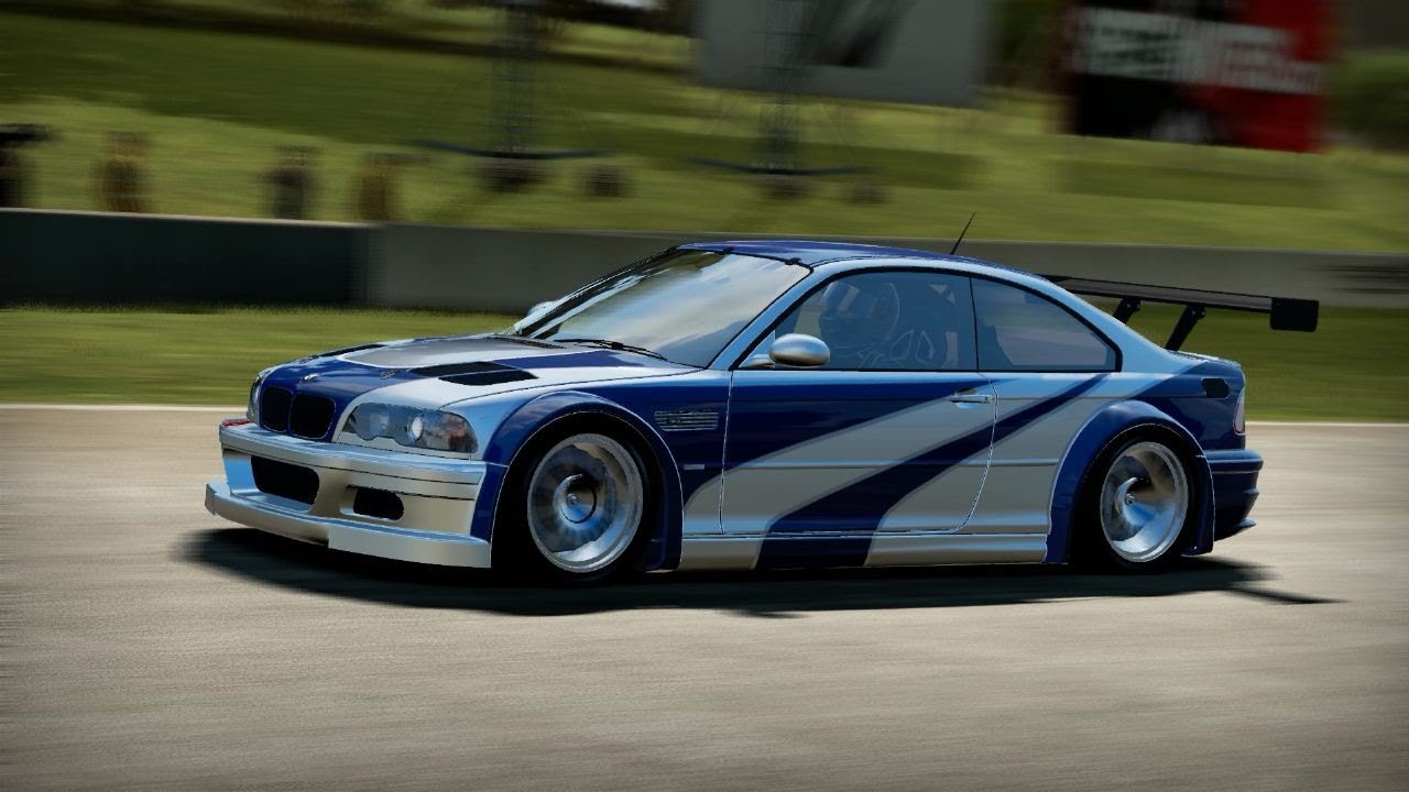 Nfs Shift 2 Unleashed Hd Bmw M3 Gtr E46 Most Wanted Edition On